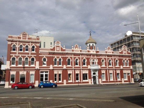 Victoria Railway Hotel: Hotel external 2