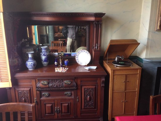 dining room credenza - Picture of Victoria Railway Hotel ...