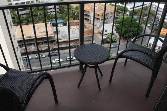 Aqua Palms Waikiki: View of construction.
