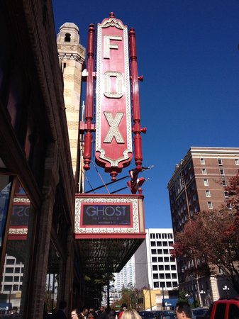 "Fox Theatre : Fox theater featuring "" ghost"" the musical"