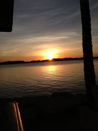 Lorelei Restaurant & Cabana Bar : sunset