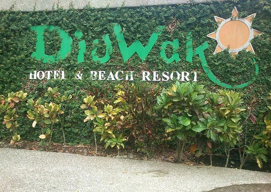 Hotel Diuwak : Diuwak, Hotel and Beach Resort