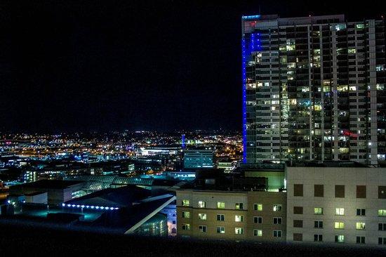 Hyatt Regency Denver At Colorado Convention Center : The night view, left