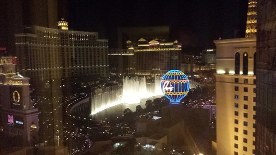 Planet Hollywood Resort & Casino : strip view from South tower