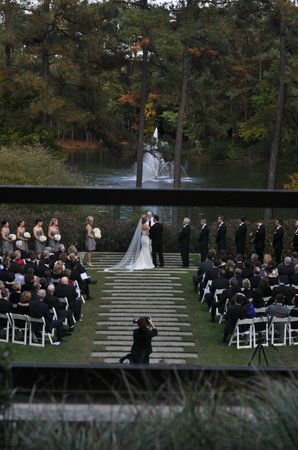 The Umstead Hotel and Spa: A wedding in progress