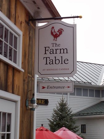 The Farm Table: Signage