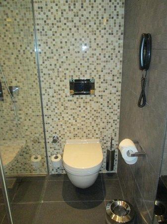 Movenpick Hotel Ankara : The toilet.