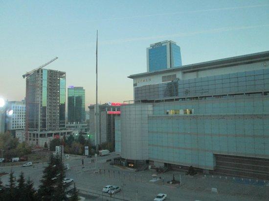 Movenpick Hotel Ankara : View from my room.