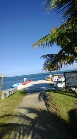 Gulf View Waterfront Resort: The resort IS right on the water