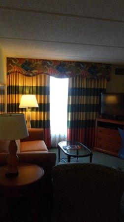 Homewood Suites by Hilton Orlando-Nearest to Univ Studios: Living Room