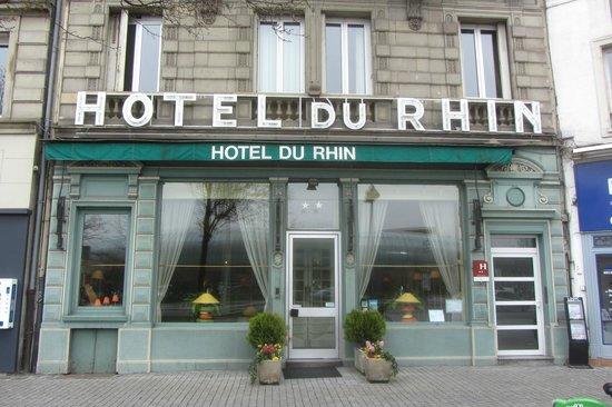 Hôtel du Rhin: L'hôtel
