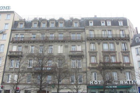 Vue depuis notre chambre picture of hotel du rhin for Chambre d agriculture du bas rhin
