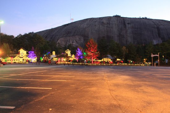 Stone Mountain Park, which encompasses the largest exposed mass of granite in the world, is one of Atlanta's most enduring landmarks and tourist attractions.