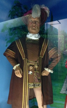 The Wax Museum: King Henry VIII Watch out for your head