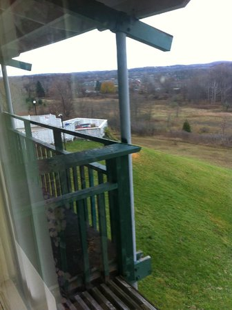 Finger Lakes Hotel: View from the room