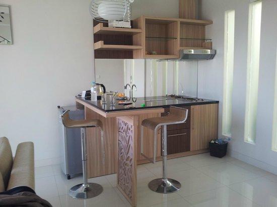 Paradise Loft Villas Jimbaran: dapur