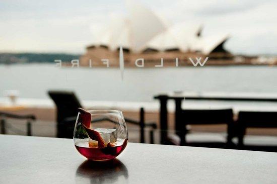 Wildfire Restaurant Sydney: Wiew