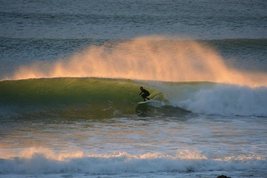African Perfection Jeffreys Bay: snapshots of my husband at dawn from our balcony