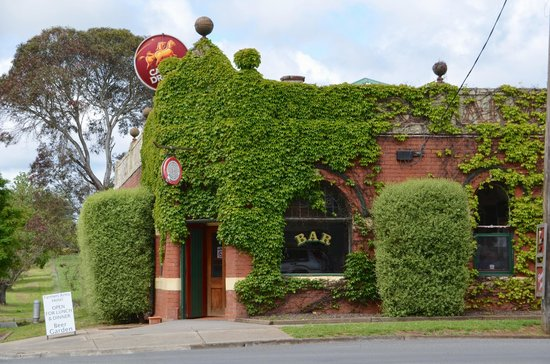 The Farmers Arms Daylesford: Ivy hides a real treasure