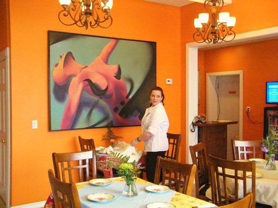 Villa Nina Bistro: Our Dinning Room