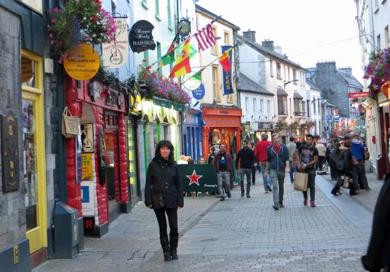 Ardawn House: walking the streets of Galway