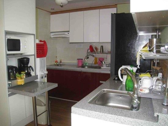 Guesthouse Jagalchiya: Kitchen