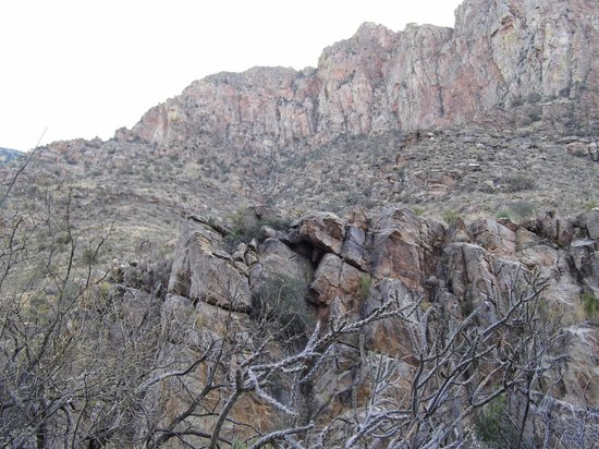 West side of Pima Canyon.