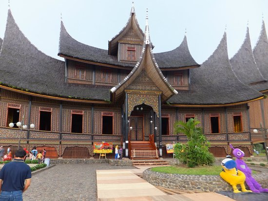 Bukittinggi, Indonesien: Main palace