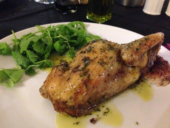Il Pozzo di Radi : Dinner - Galletto Al Forno
