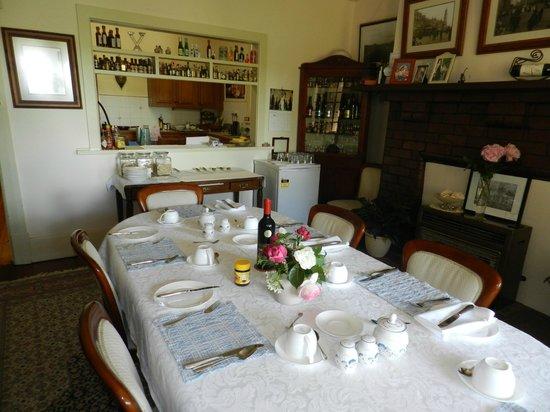 Barossa House: Breakfast Room