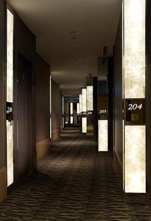 City Suites Taipei Nandong : Hallway