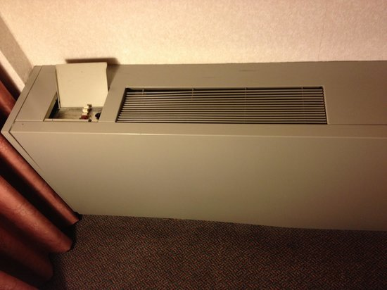 Ramada Plaza Regina Downtown: Heater