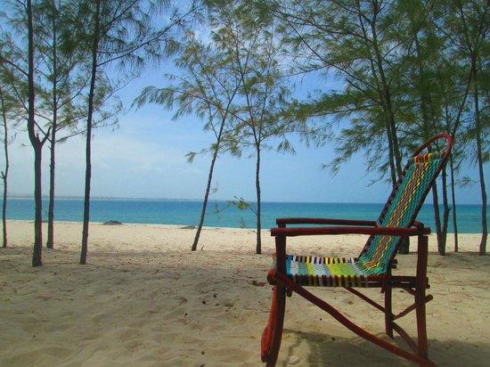 Bongoyo Island: chill chair