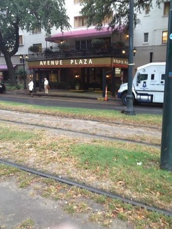 Avenue Plaza Resort: The Trolley stop is right across the street.