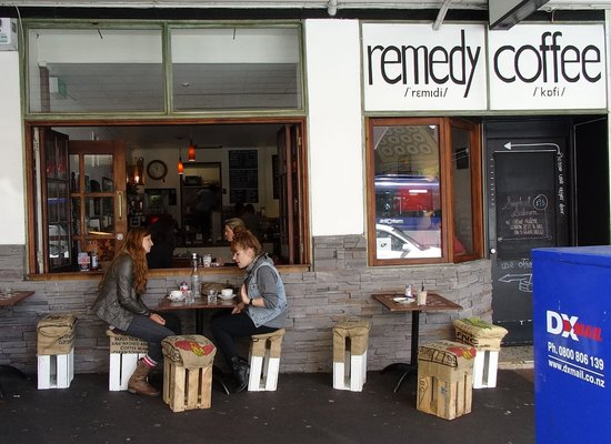 Remedy Coffee : Outside