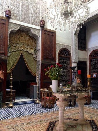 Riad Arabesque: Lobby