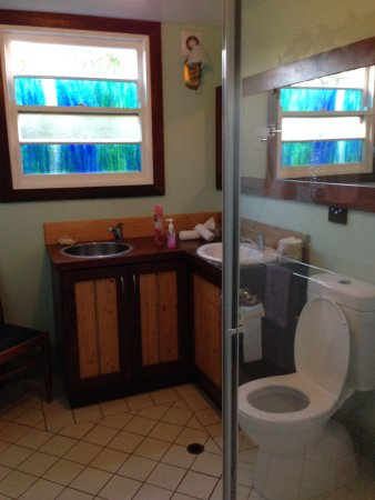 Admiral Stirling Inn : The downstairs bathroom