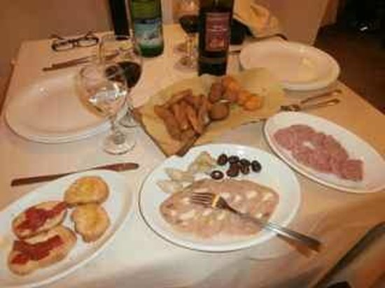 Ristorante San Claudio: Selection of entrees