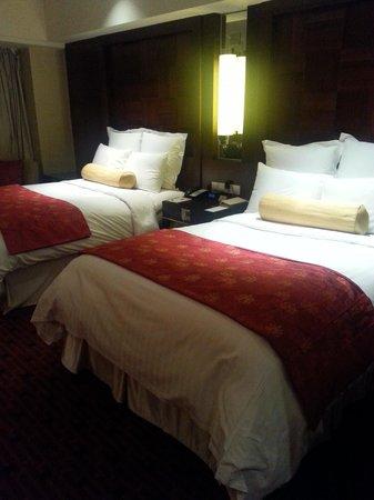 Beijing Marriott Hotel City Wall: 객실내부
