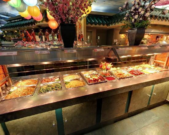 Mandarin Restaurant : Dinner buffet 1