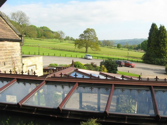 East Lodge Country House Hotel : View from window, room 304