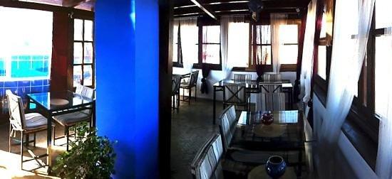 Riad Assilah : comedor en la terraza