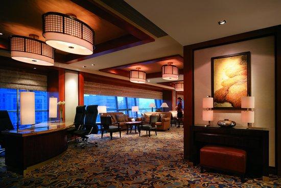 Shangri-La Hotel,Xian: Horizon Club Executive Lounge
