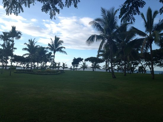 Sofitel Fiji Resort & Spa: View from garden room