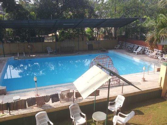 Goolkush Resort: Pool from Room Balcony