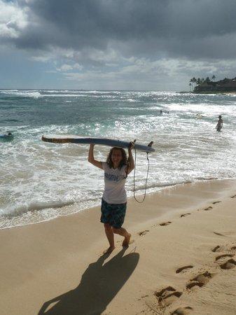 Kauai Surf School: gone surfing ....