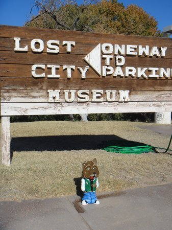 Lost City Museum: Sign of the Lost City in NV