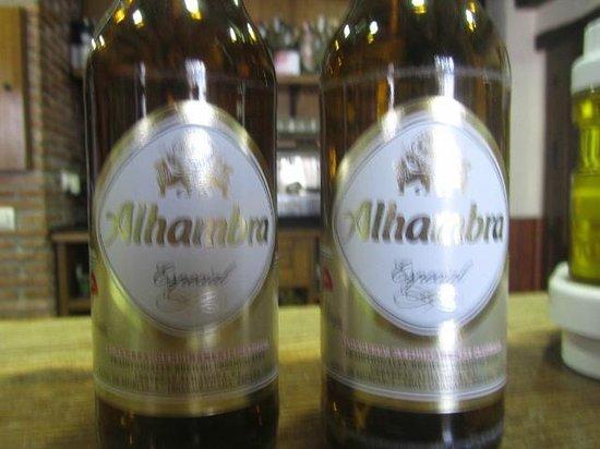Canar, Hiszpania: The regional beer at Bar Piqui