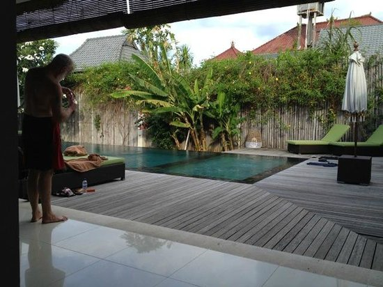 Villa Disana & Spa: Kiddies pool or for adults to just sit and relax in