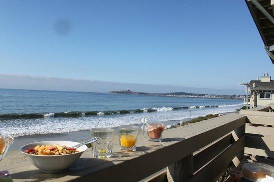 Cypress Inn on Miramar Beach: View from 'La Lluvias' room